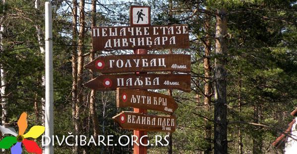divcibare walking trails
