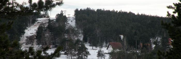 divcibare ski tracks