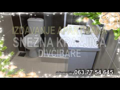 Apartmani Snežna kraljica Divčibare video